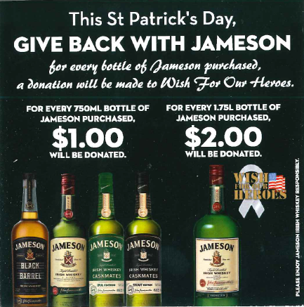Give Back with Jameson