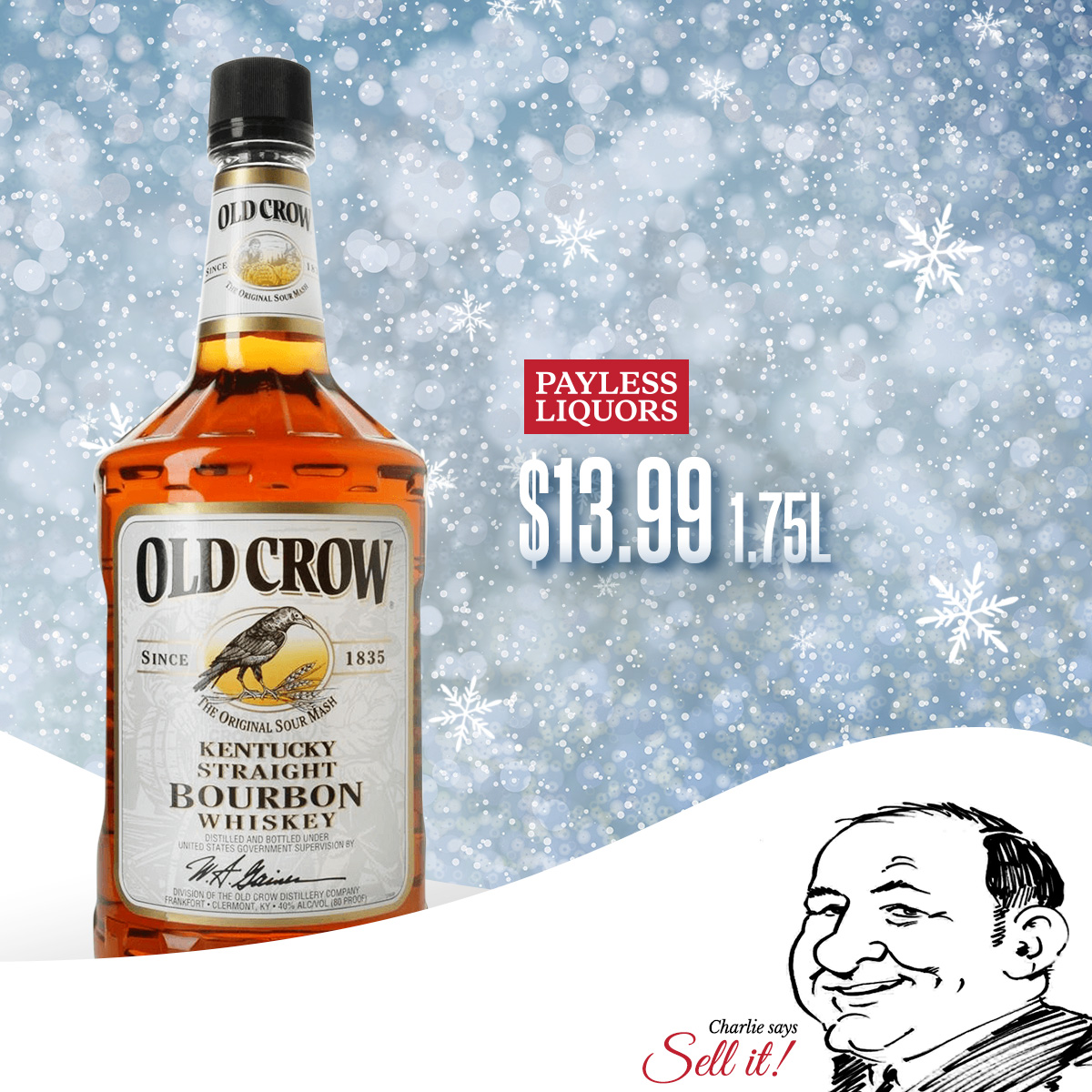 Old Crow 1.75L