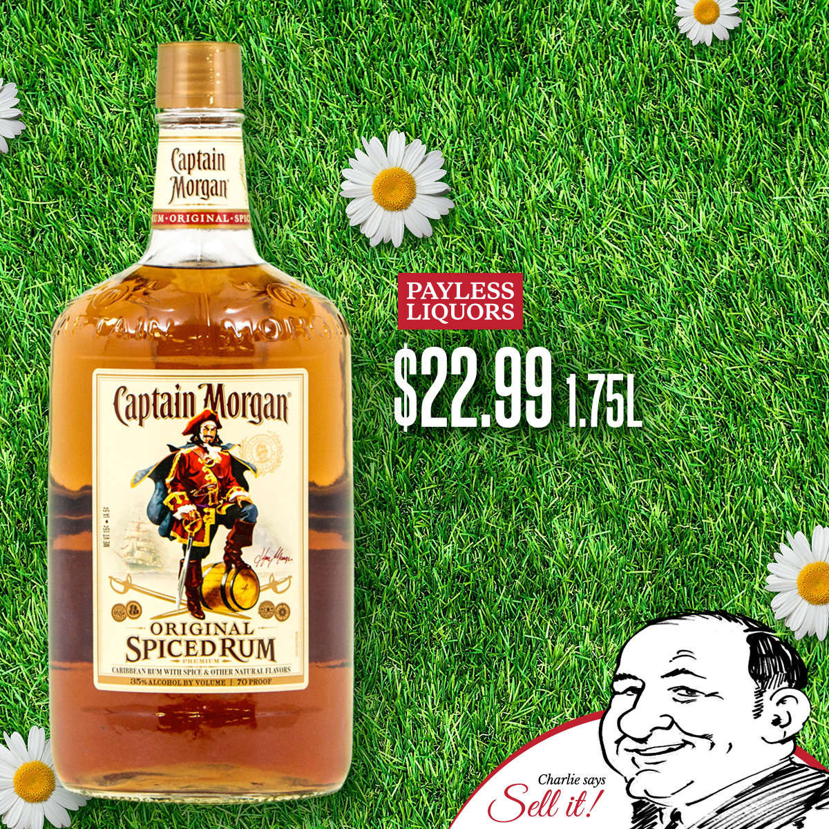 Captain Morgan 1.75L