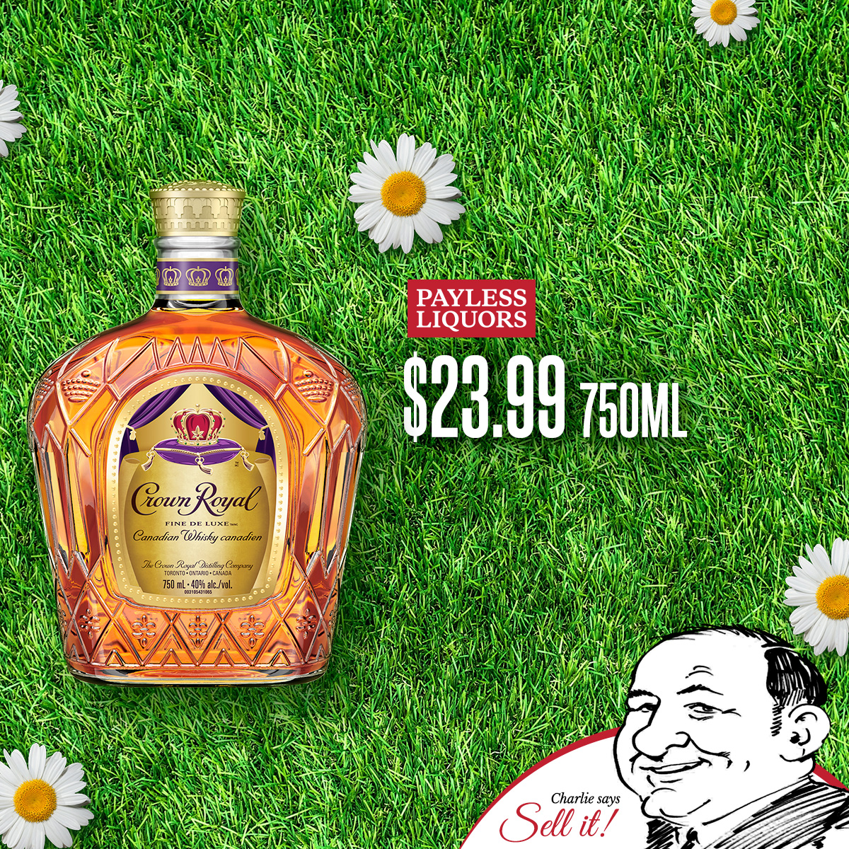Crown Royal 750mL