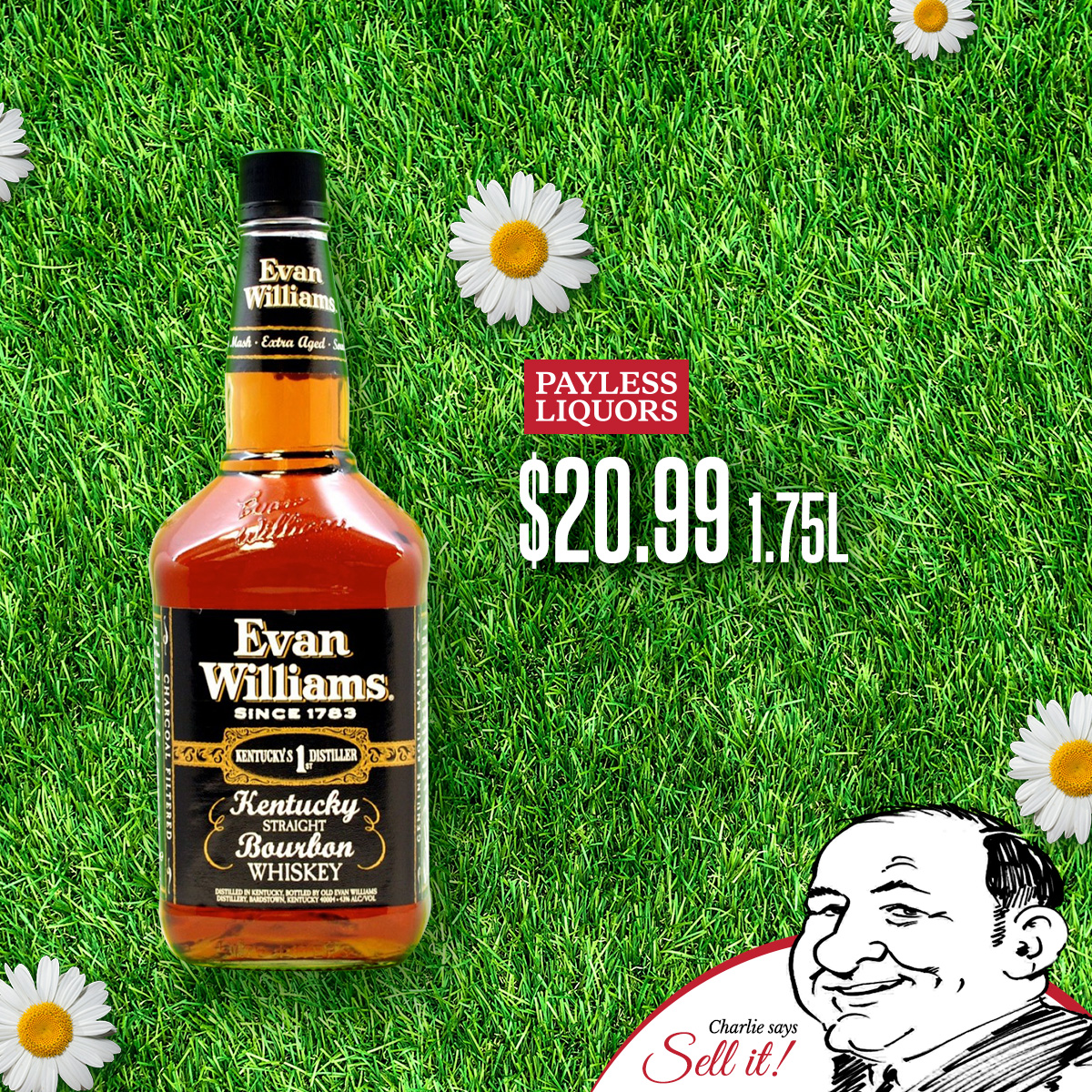 Evan Williams Black Label 1.75L