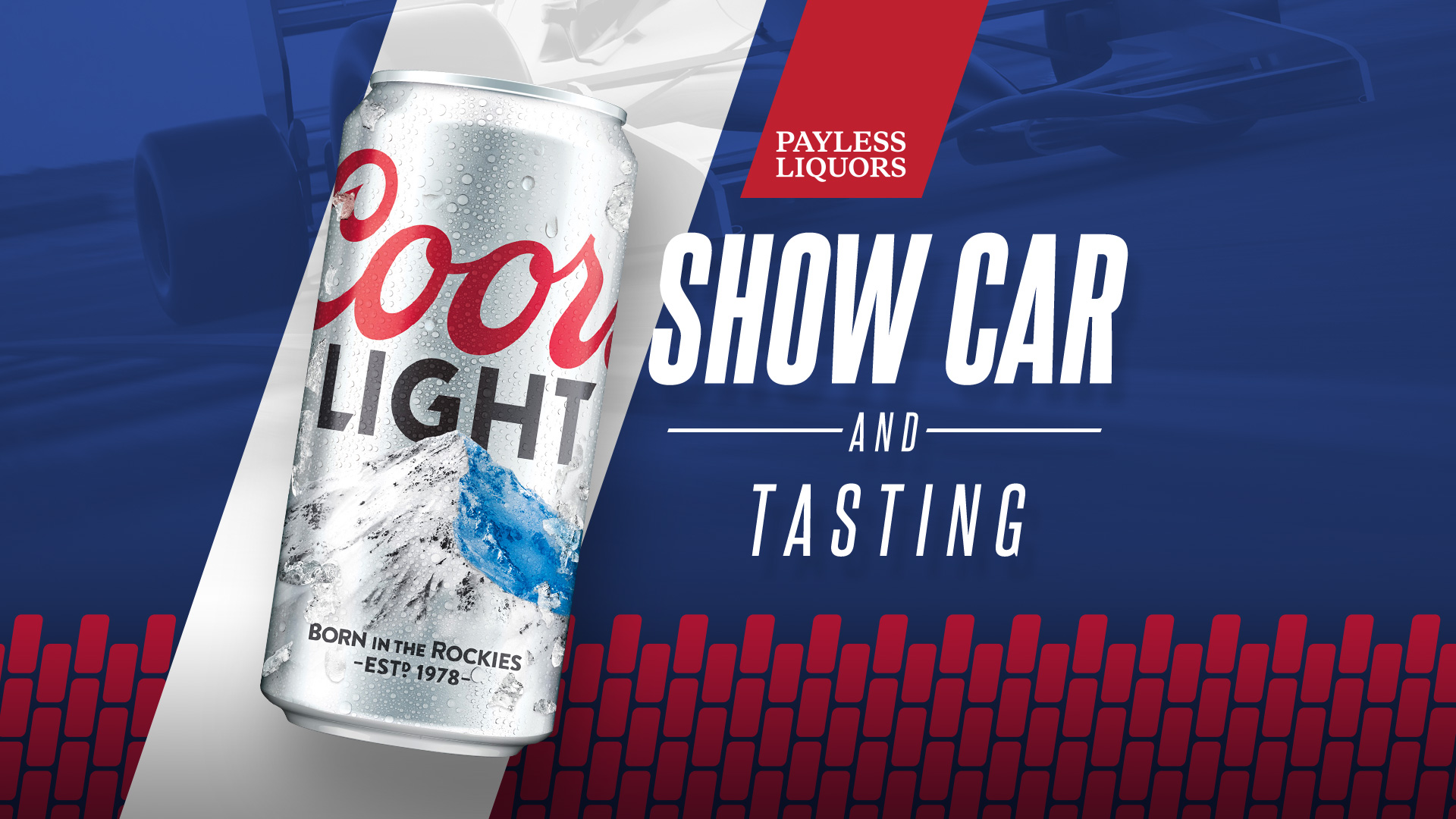 Coors Light Show Car