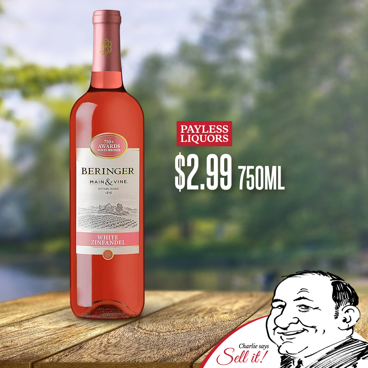 Beringer Wines 750mL