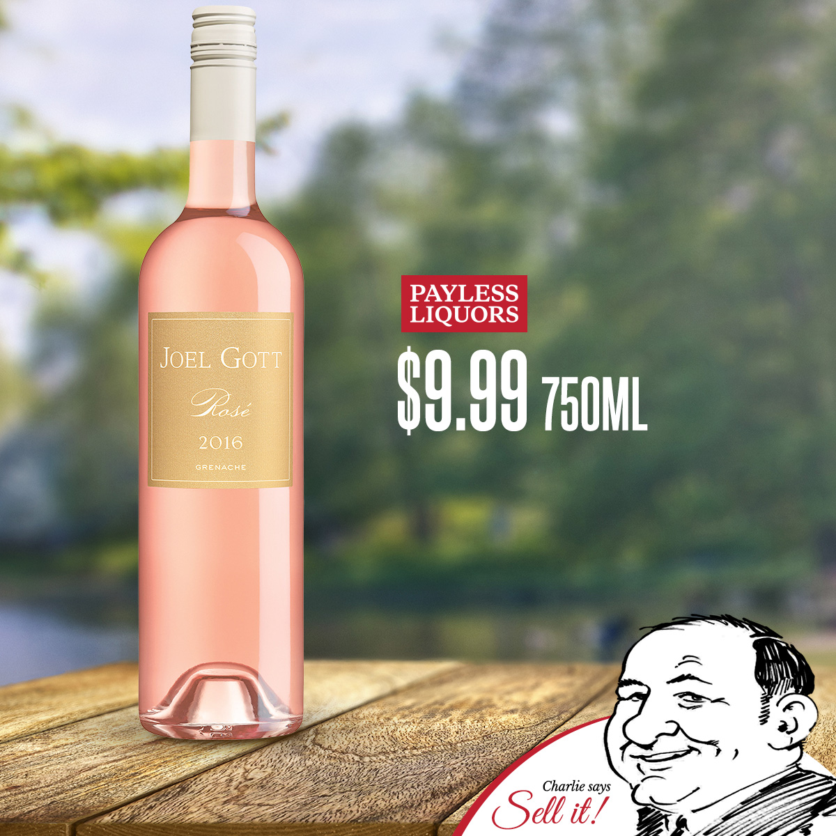 Joel Gott Rose 750mL