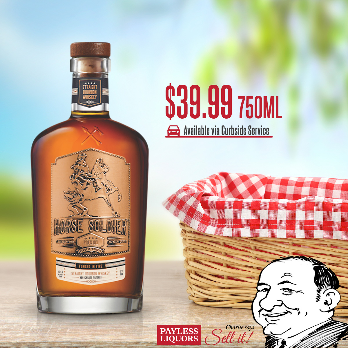 Horse Solider Bourbon 750mL