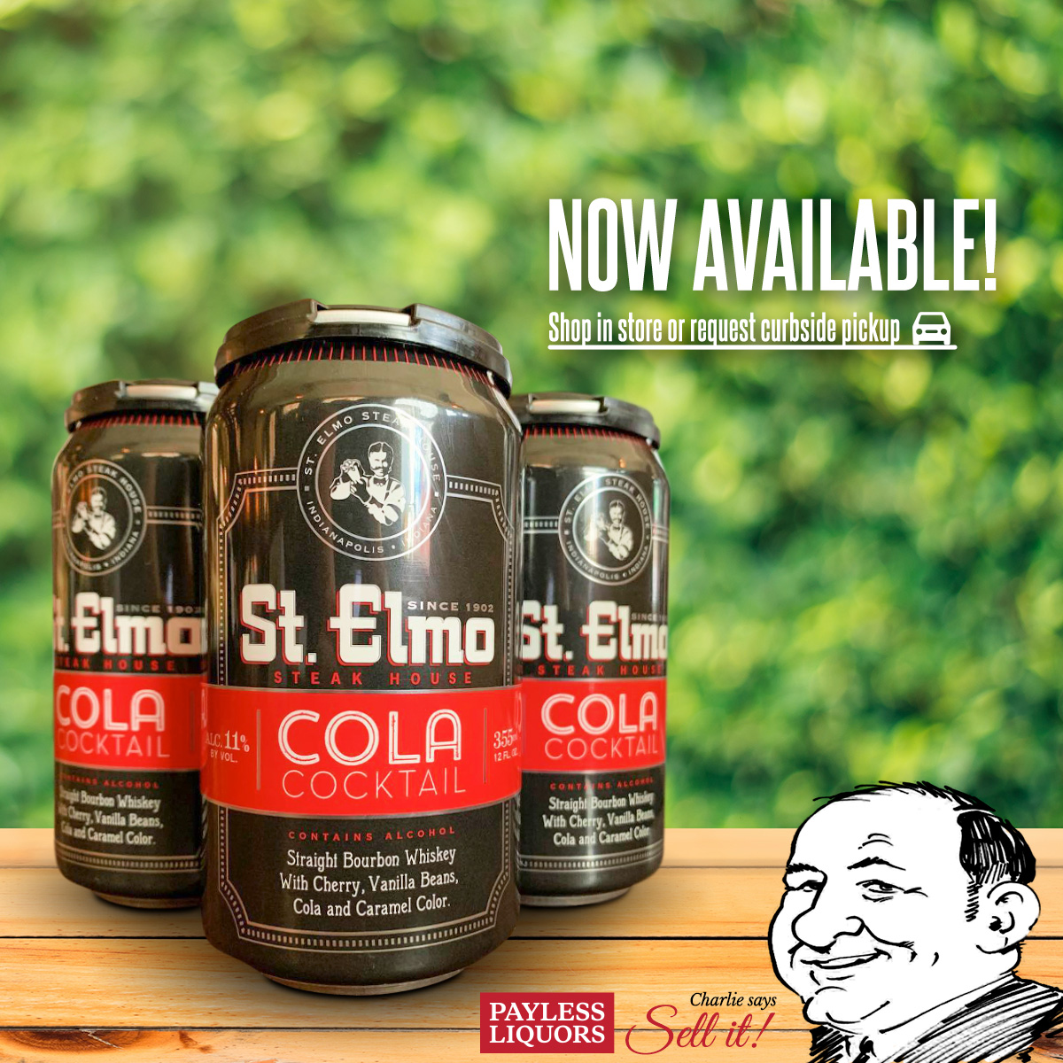 St. Elmo's Craft Cola Cocktail