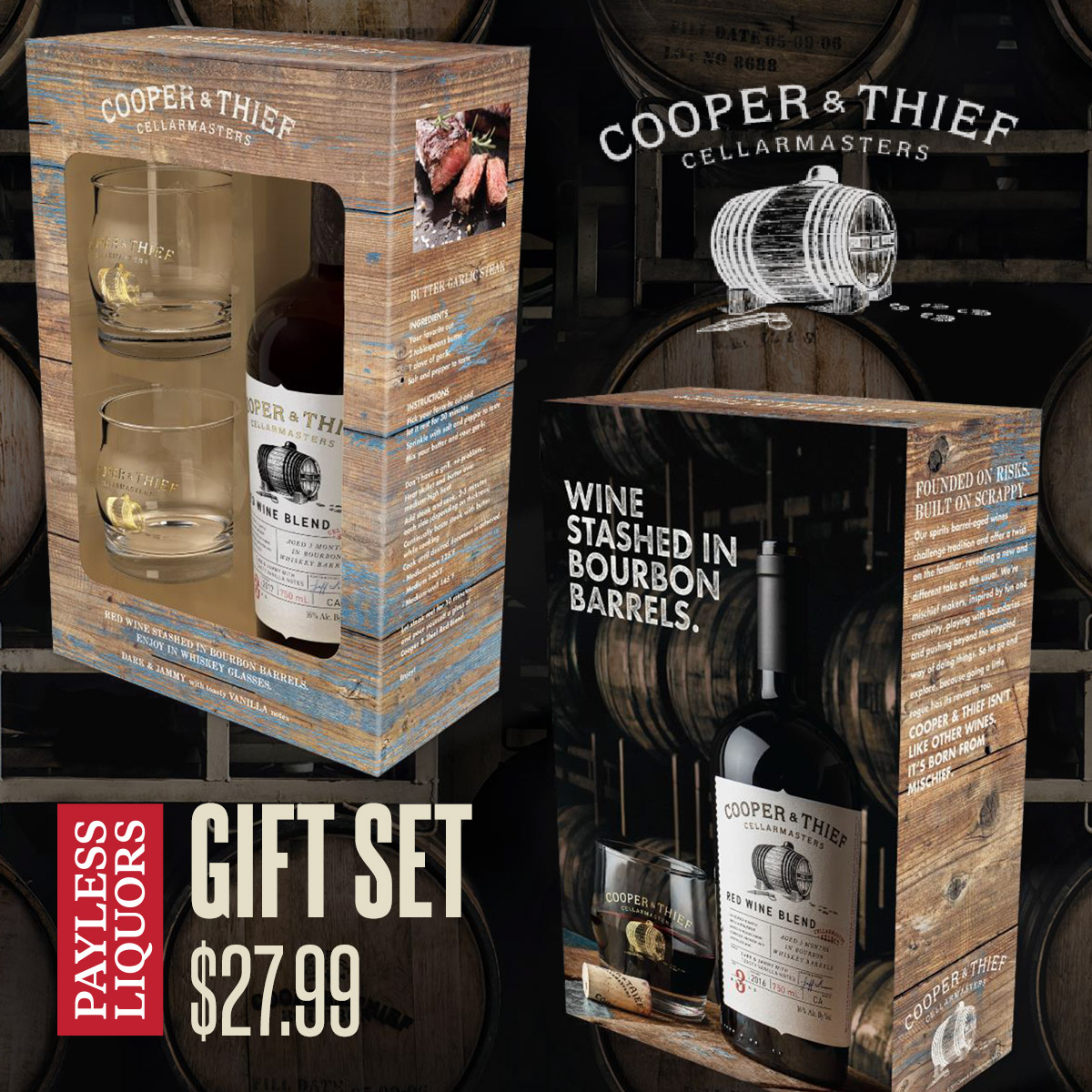 Father's Day Cooper & Thief Gift Set