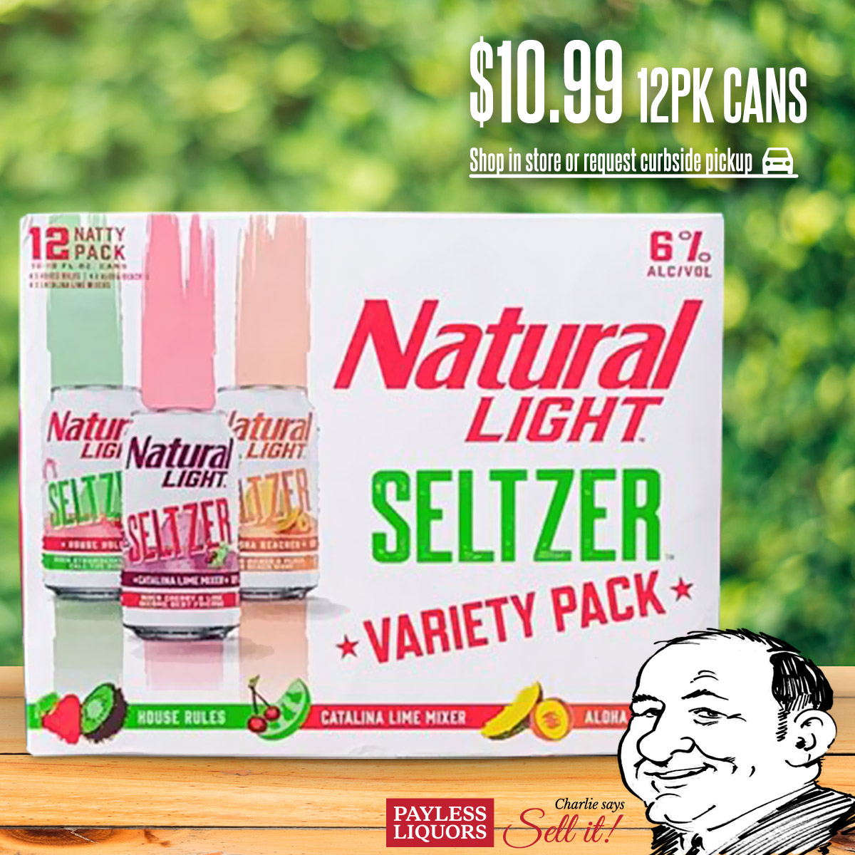 Natural Light Variety 12pk Cans