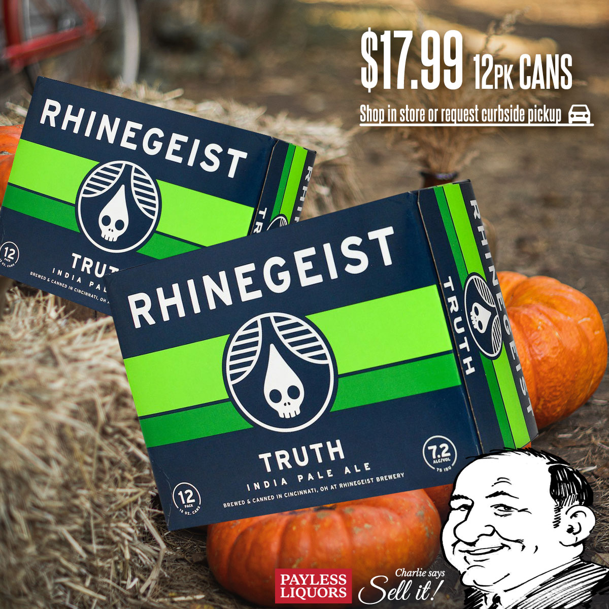 Rhinegeist Truth IPA 12 Pack Cans