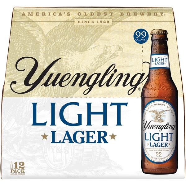 Yuengling Light Lager 12pk Bottles & Cans - Save $1.00
