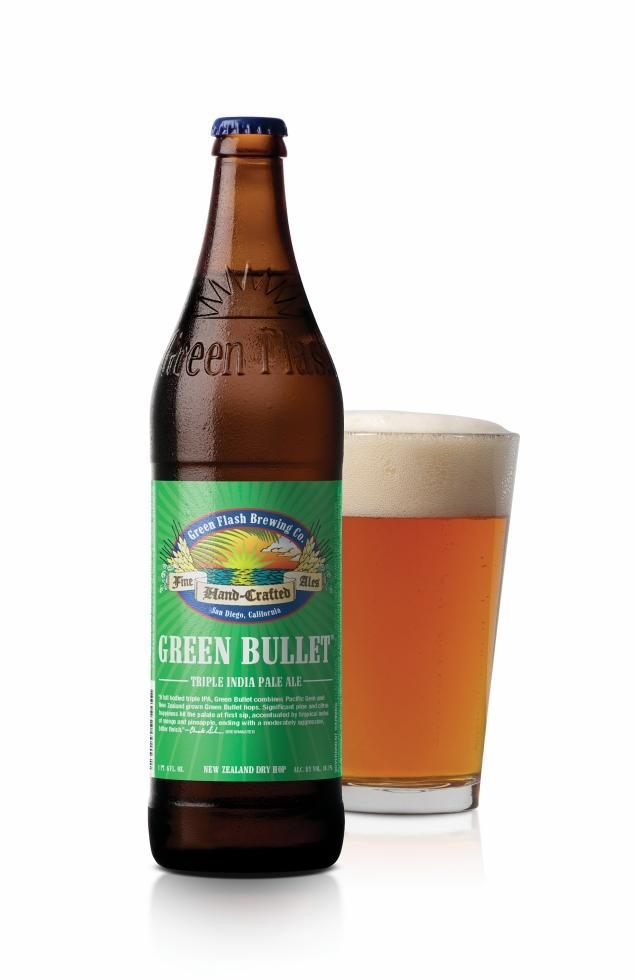 Green bullet triple ipa tropical and bitter payless liquors for Craft beer and food