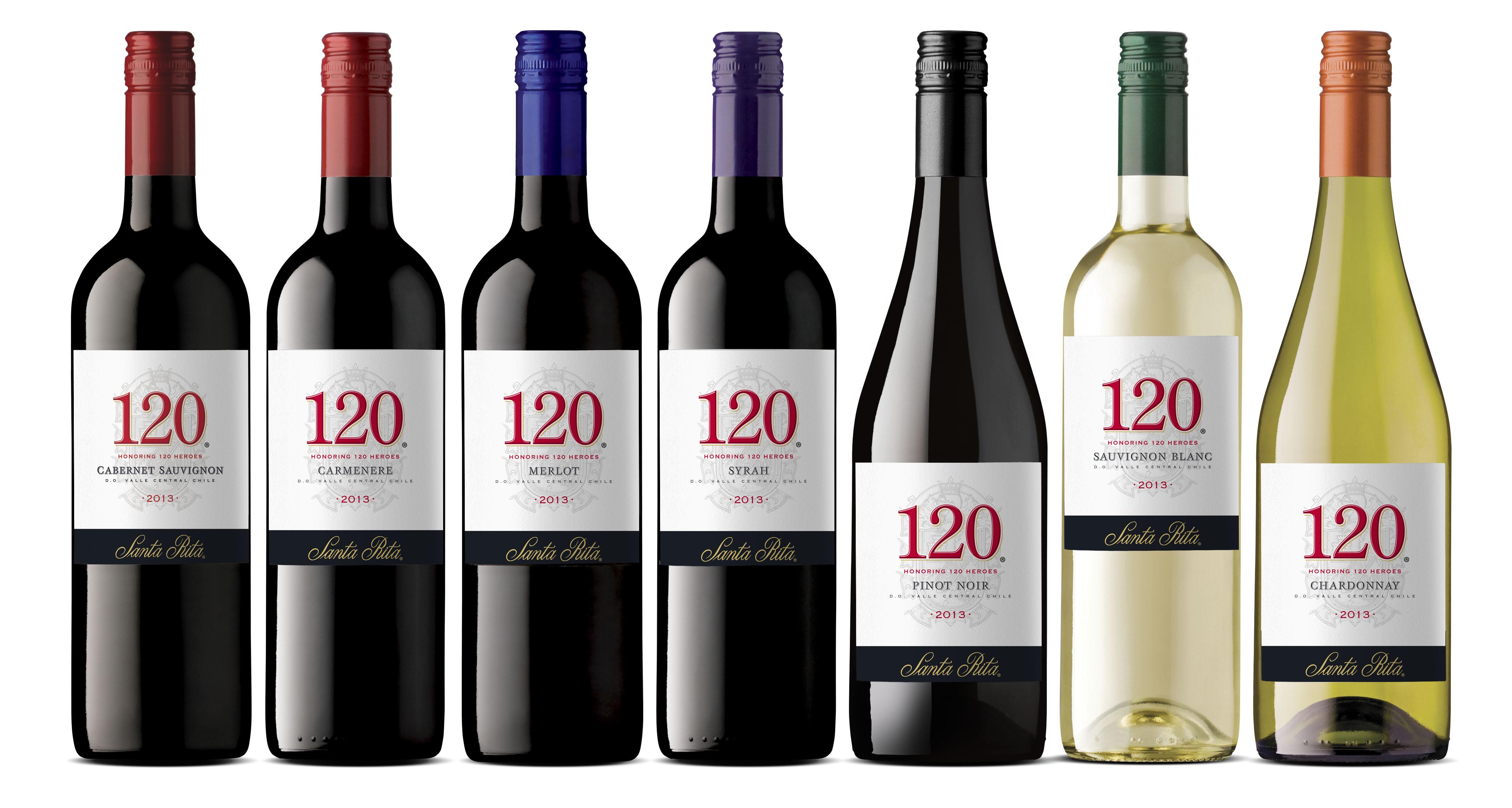 Santa Rita 120 Wines
