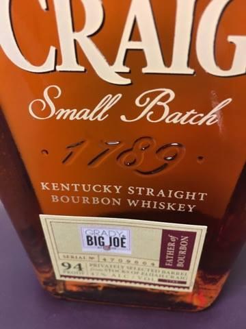 Elijah Craig Small Batch bourbon barrel selection by Joe and Grady