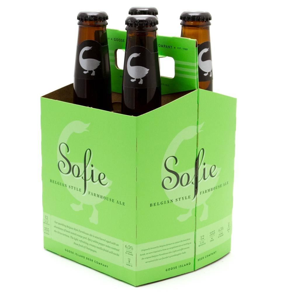 Goose Island Sofie 4 pack