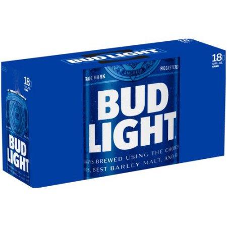 Bud Light 12 oz Cans 18-Pack