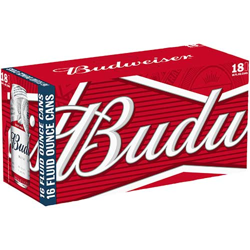 Budweiser 12 oz Cans 18-Pack