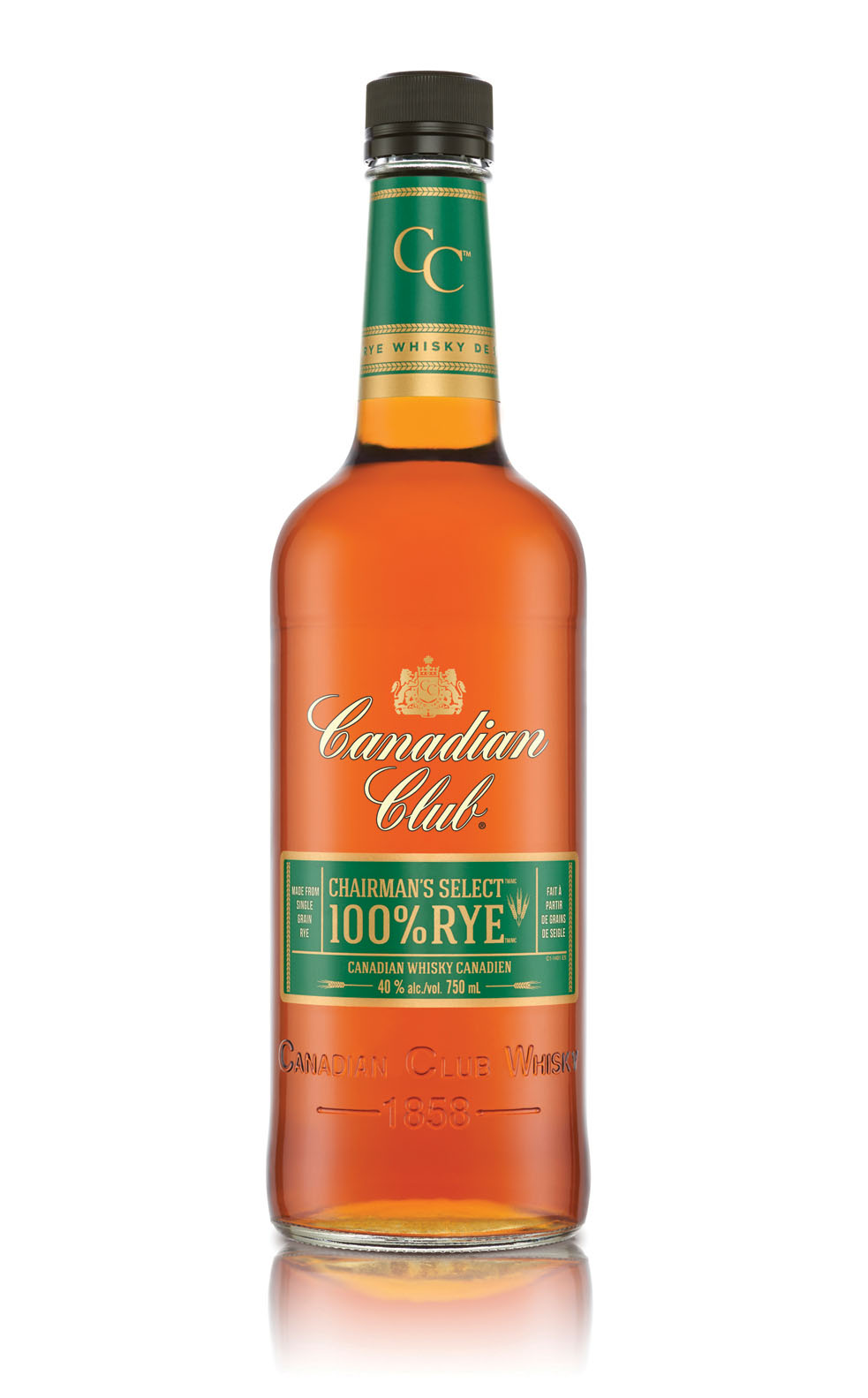 Canadian Club launches Canadian Club Chairman's Select 100% Rye. (CNW Group/Beam Suntory Inc.)