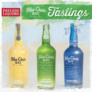 try blue chair bay key lime rum cream banana cream and coconut