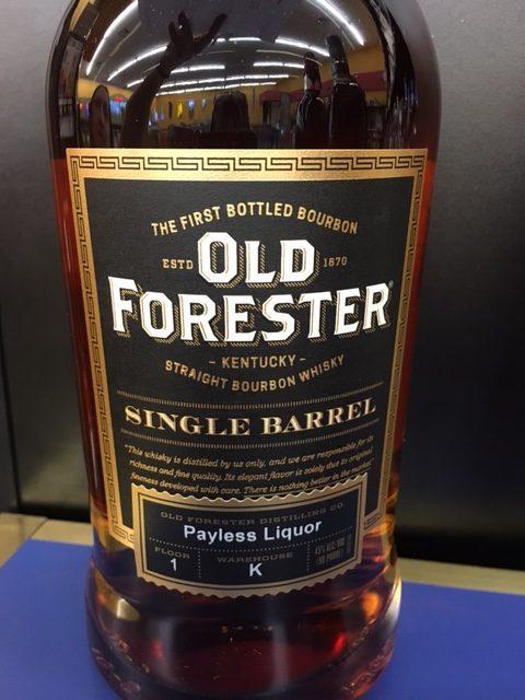 Old Forester Single Barrel 750mL