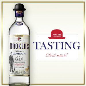 Broker's Gin Tasting