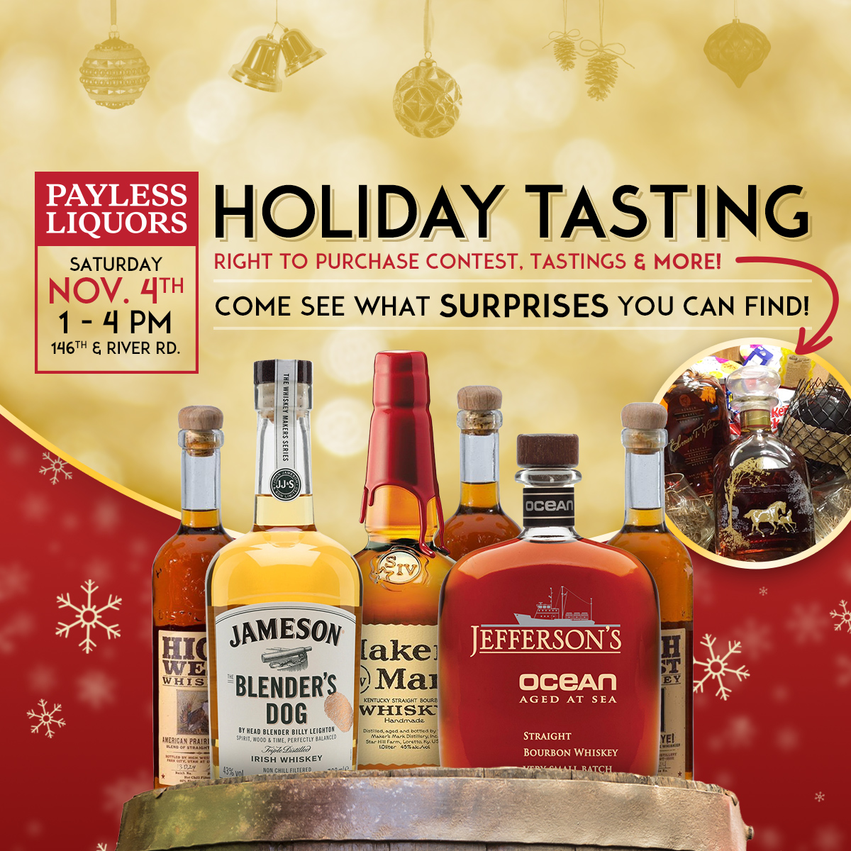 Holiday Tasting
