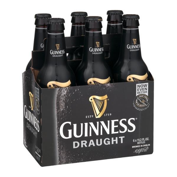 Guinness Draught 6-Pack Bottles